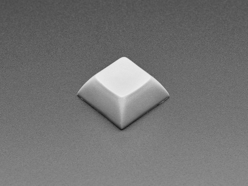 Top view of DSA Dark Grey color keycap