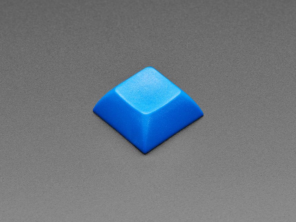 Top view of DSA DARK BLUE color keycap