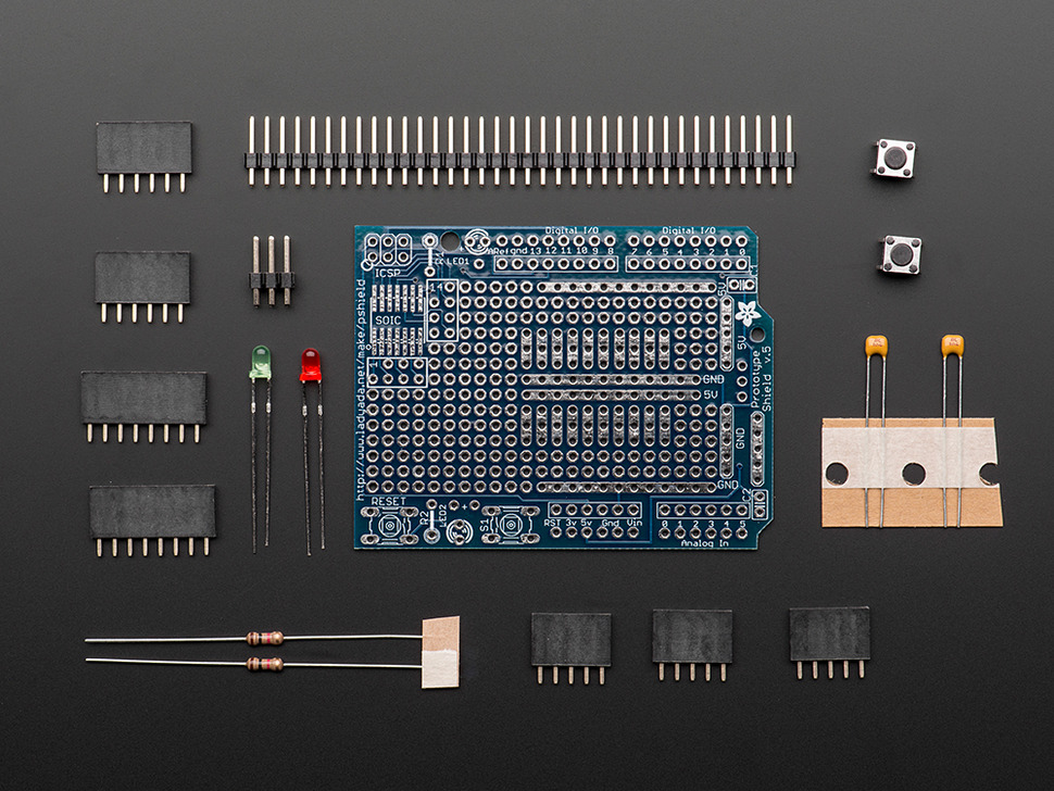 Adafruit Proto Shield for Arduino Kit - v.5