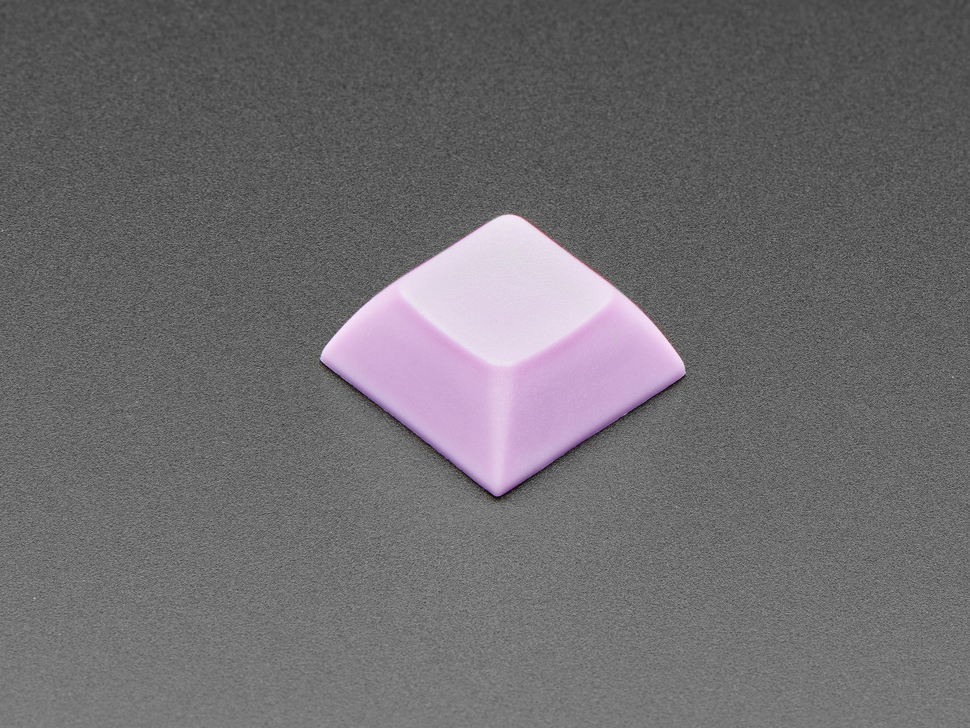 Single shot of 10 pack DSA color keycap Light Purple KIT