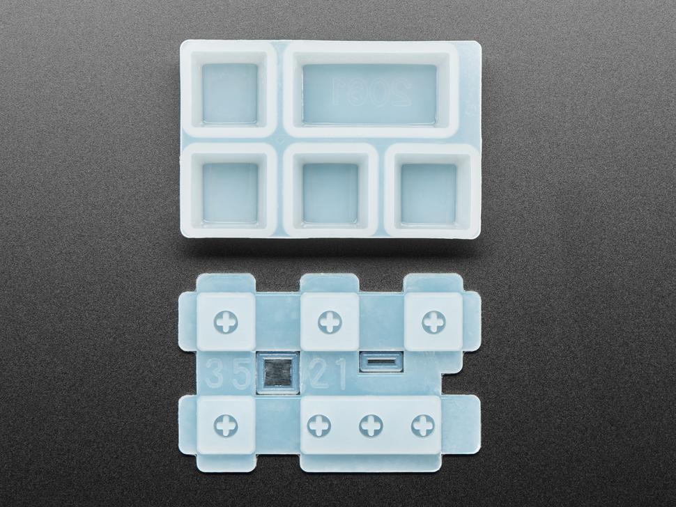 Top of Esc keycap mold.