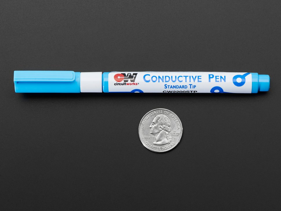 Conductive Silver Ink Pen - Standard Tip - CW2200STP