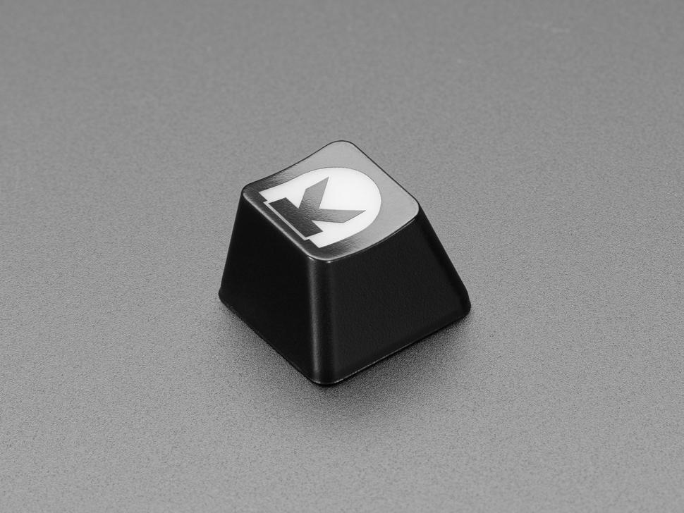 Angled shot of Digi-Key Etched R4 keycap.