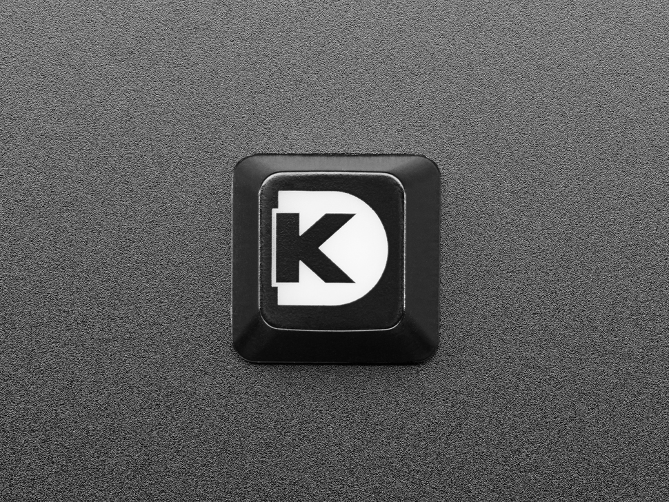 Top view of Digi-Key Etched R4 keycap.
