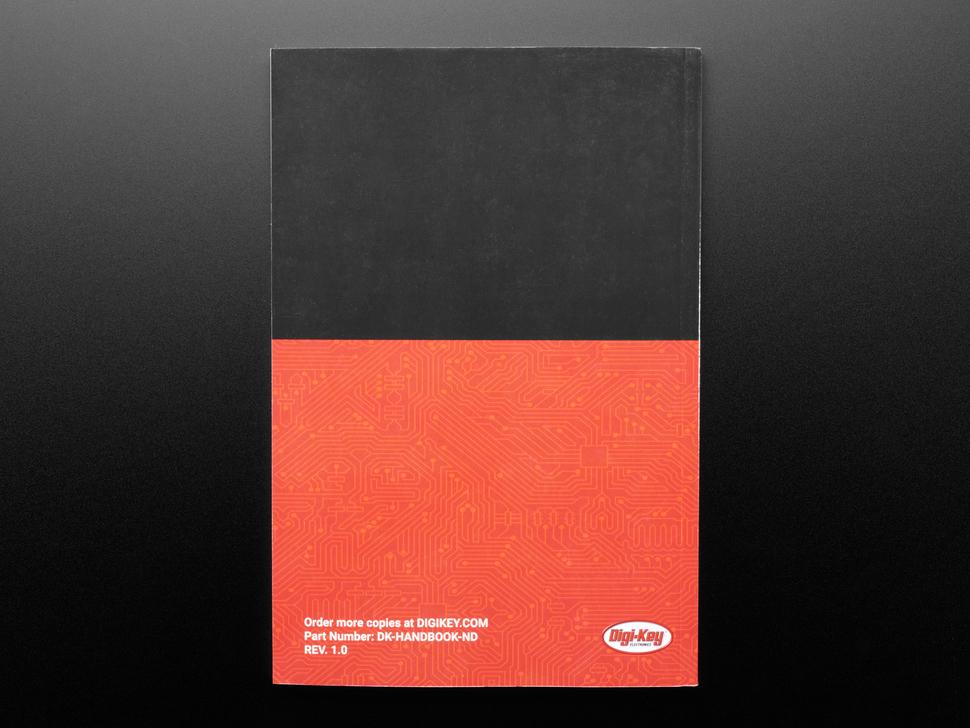 Back cover of Digi-Key Innovation Handbook.