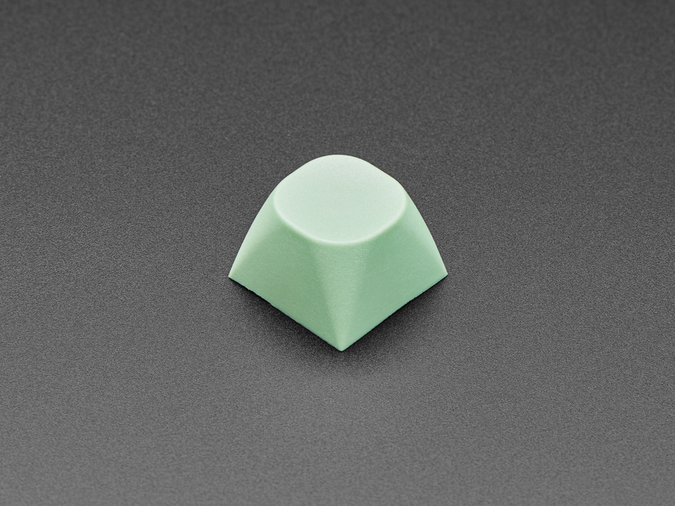Singled mint screen MA keycap.
