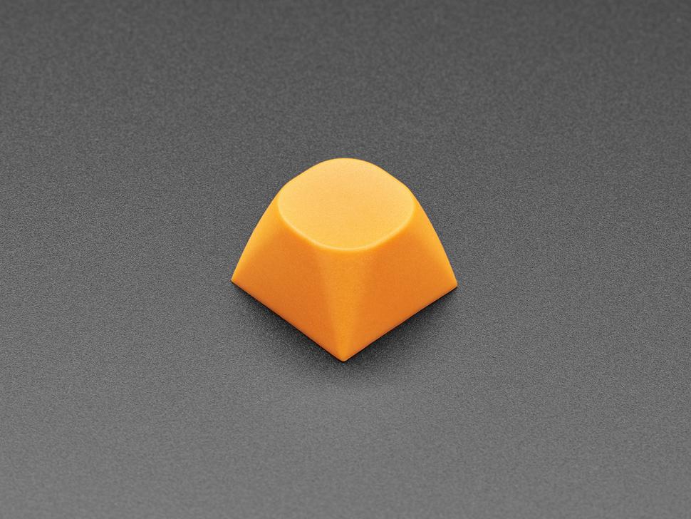 Singled orange MA keycap.