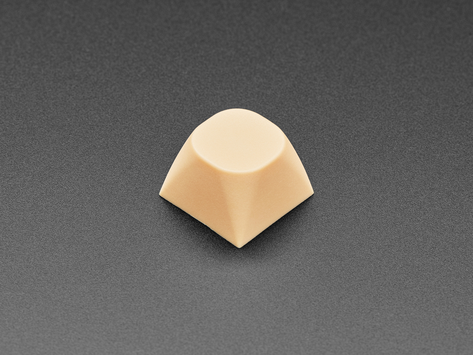 Singled cream orange MA keycaps. .