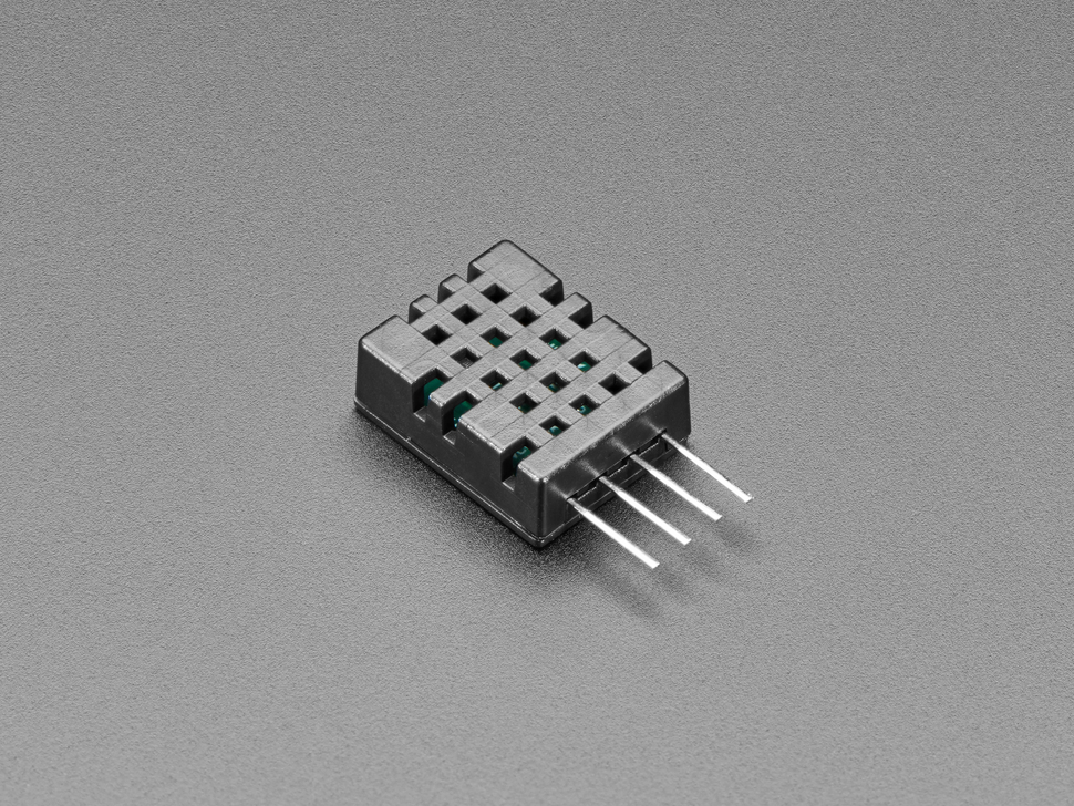 Angled shot of AM2108 (Wired DHT20) - Digital Temperature and Humidity Sensor.