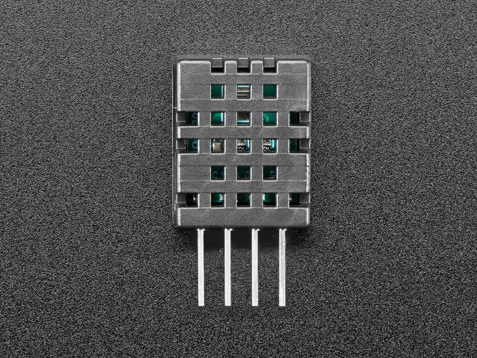 Top view of AM2108 (Wired DHT20) - Digital Temperature and Humidity Sensor.