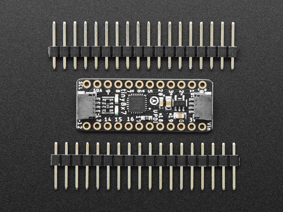 Adafruit ATtiny817 Breakout with seesaw and two headers