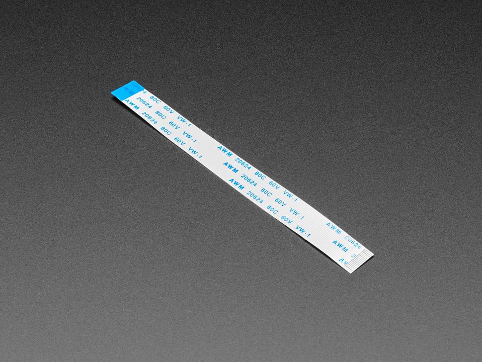 EYESPI Cable - 18 Pin 100mm long Flex PCB (FPC) A-B type
