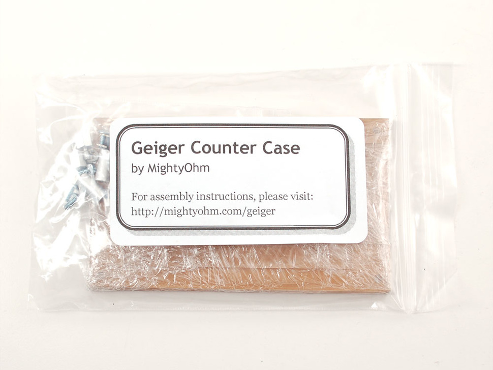 Geiger Counter Kit Case