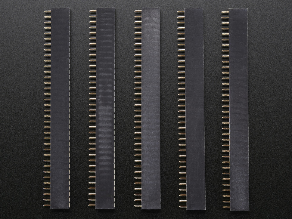 "36-pin 0.1"" Female header - pack of 5!"