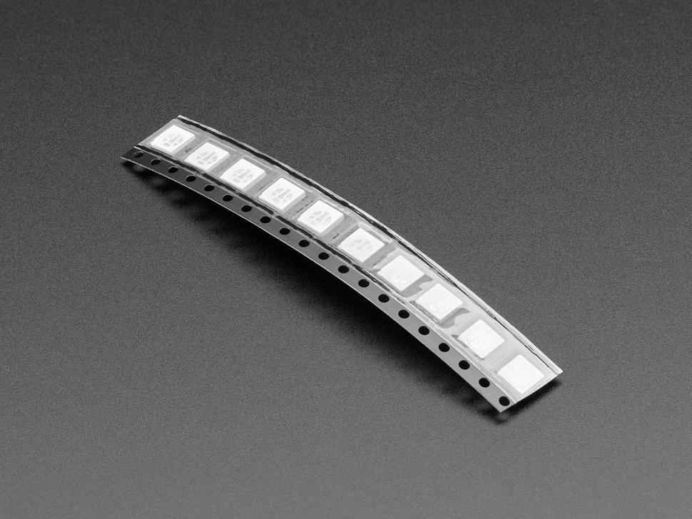 Cut tape strip of 10 LEDs