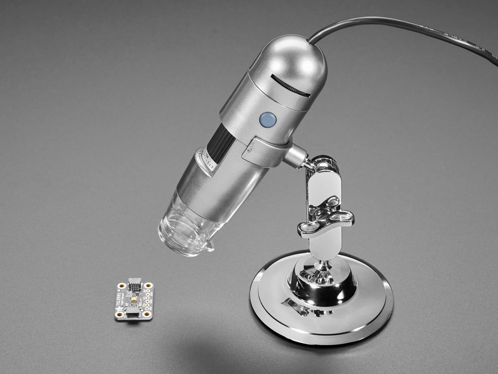 USB Microscope - 5MP interpolated 220x magnification / 8 LEDs