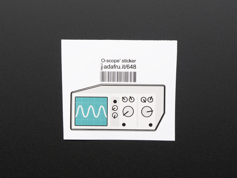 Oscilloscope - Sticker!