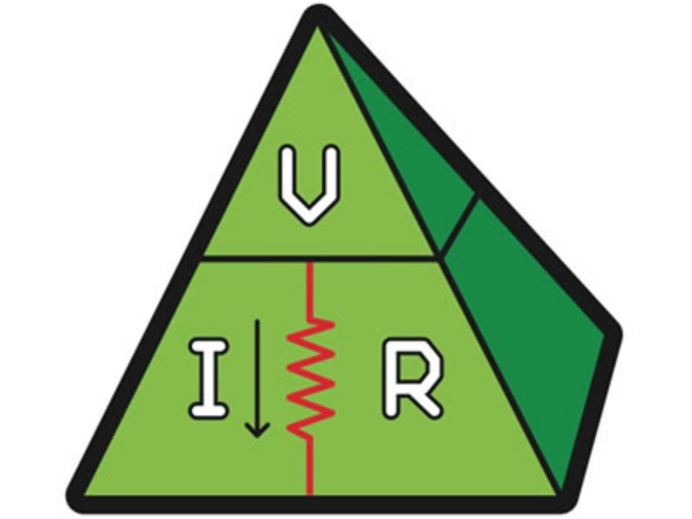 Ohms law, VIR - Sticker!