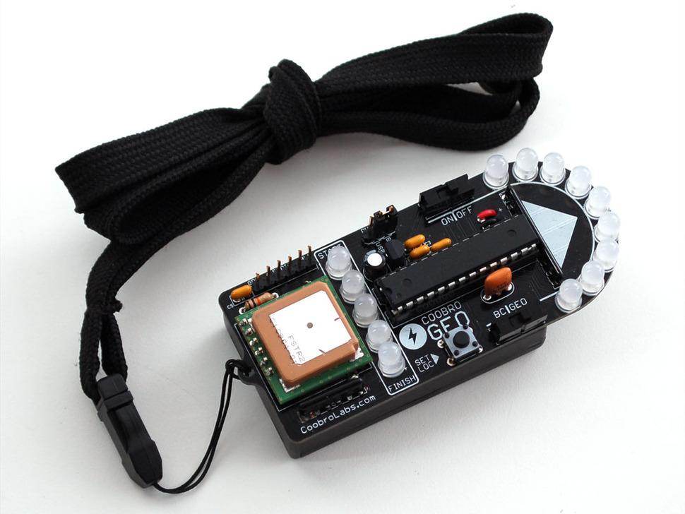 Coobro Geo Kit - DIY GPS Geocaching Pendant
