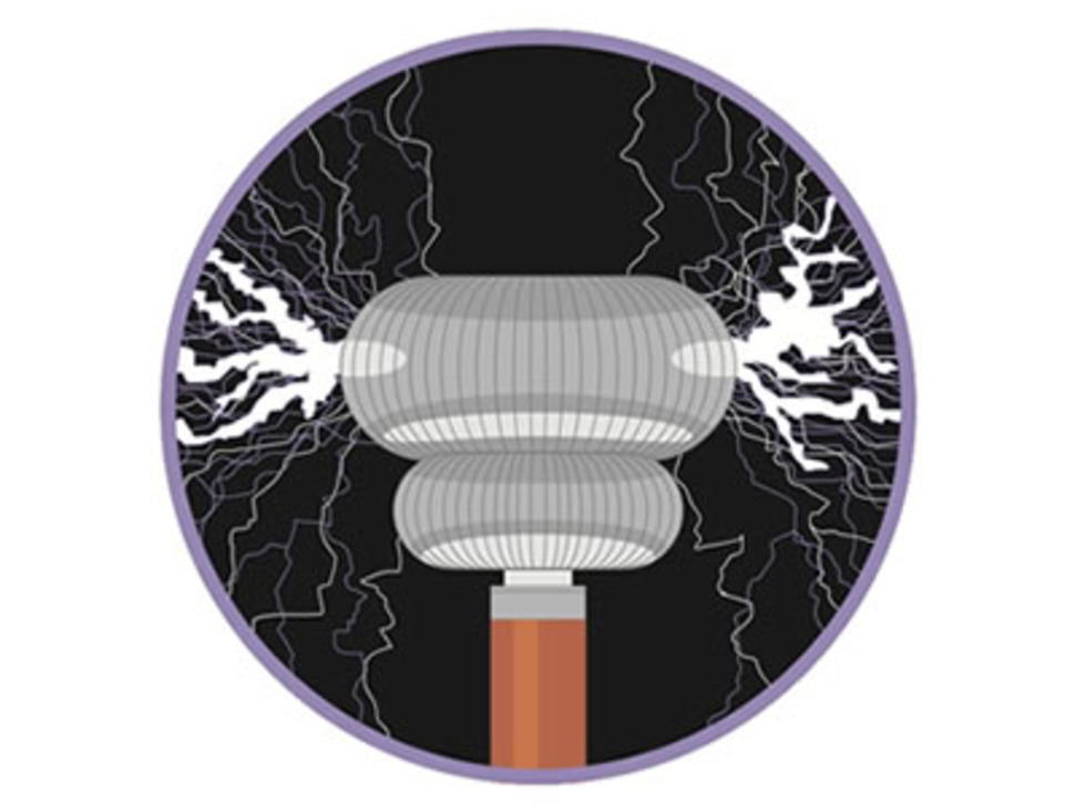 Tesla coil - Sticker!