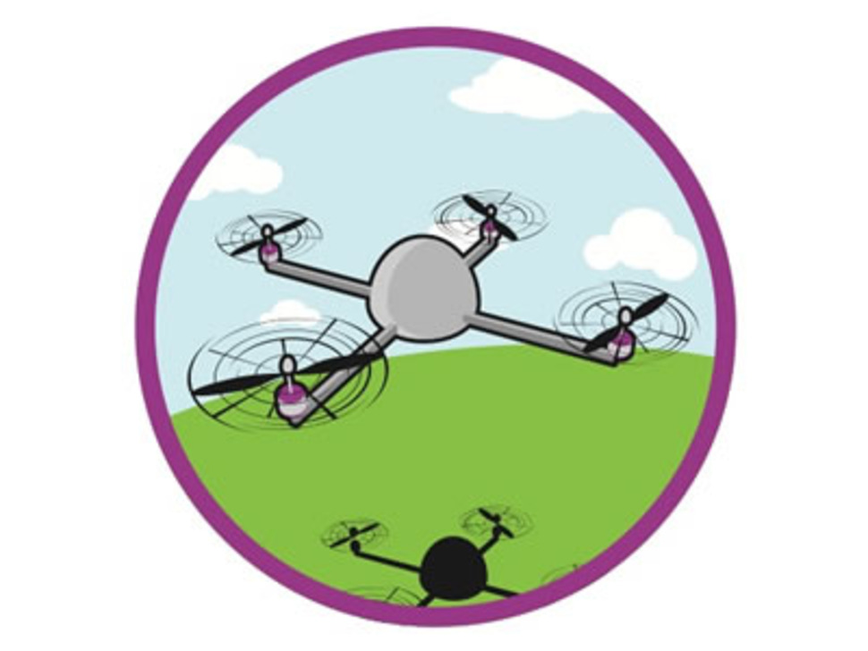 Educational mini UAVs- Sticker!