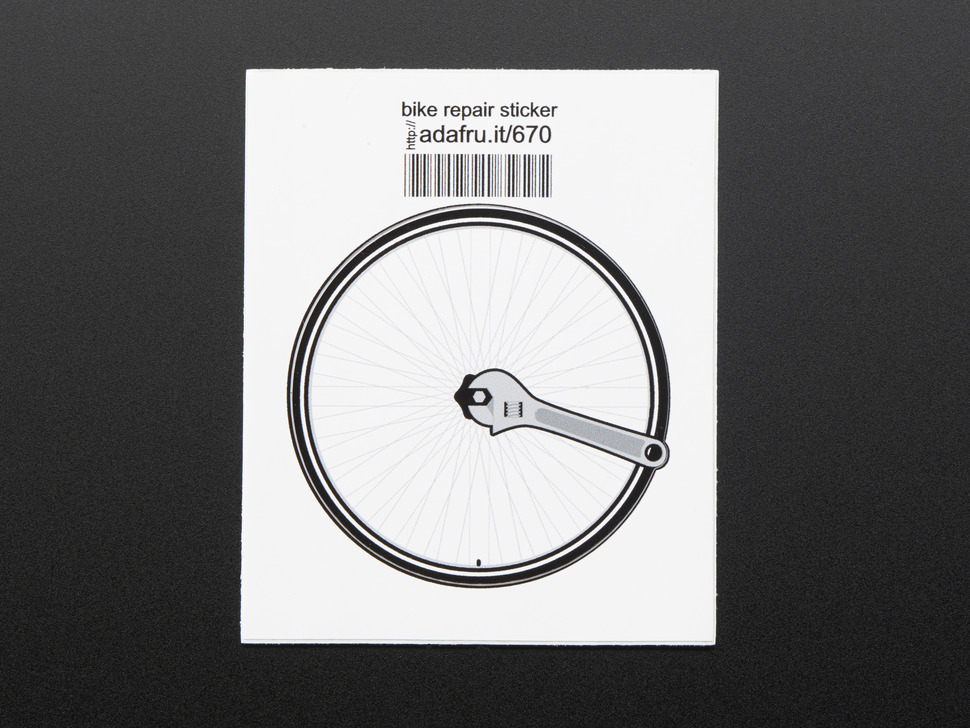 Bike repair - Sticker!