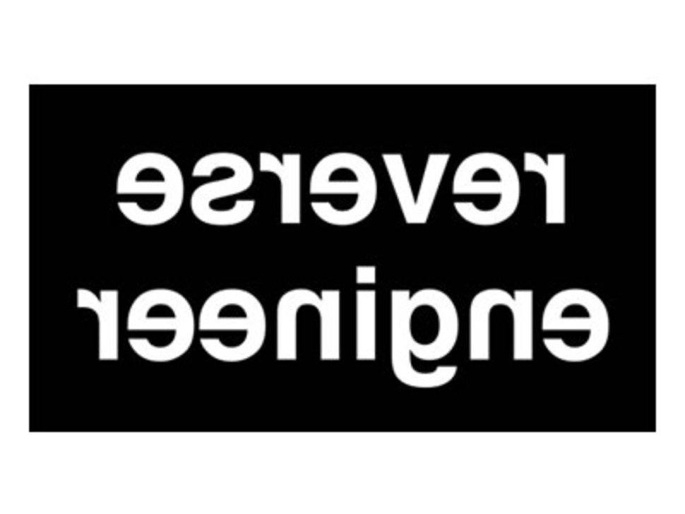 Reverse Engineer - Sticker!