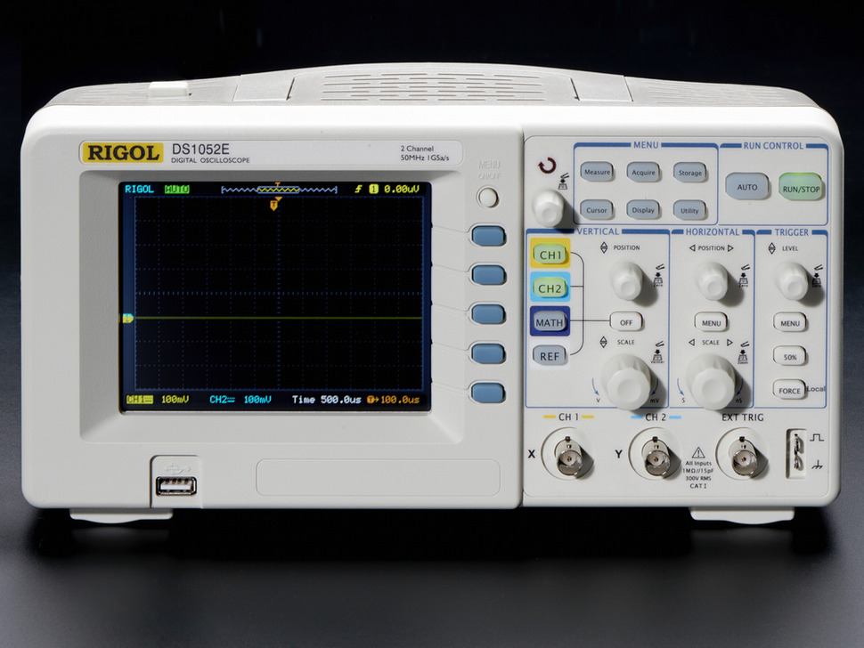 1 GS/s 50MHz Digital Storage Oscilloscope - Rigol DS1052E - Rigol DS1052E