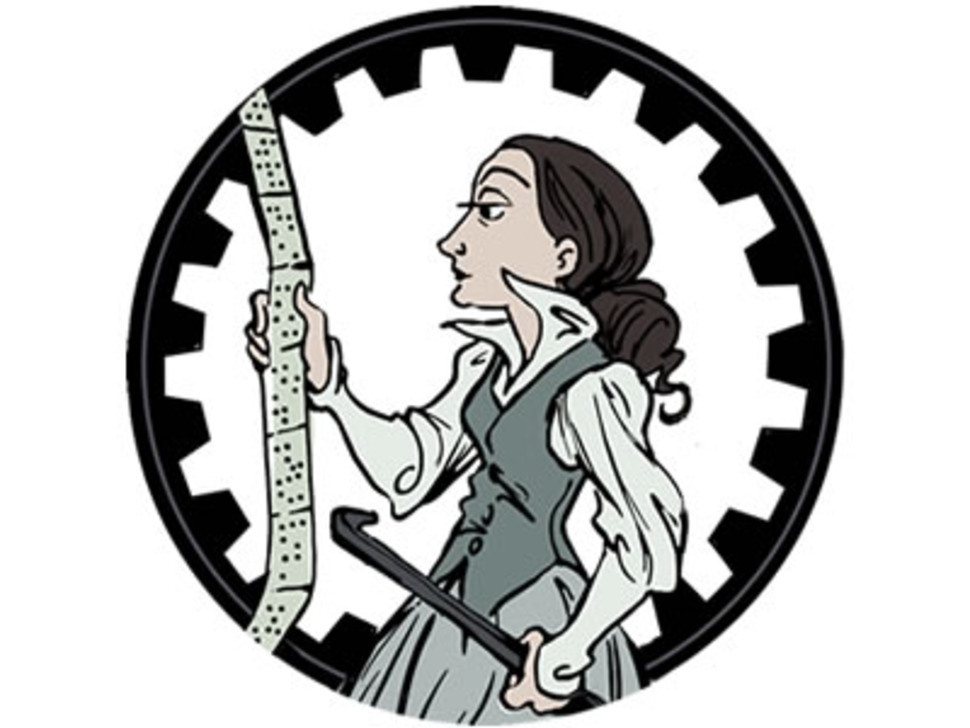 detailed view of Ada Lovelace graphic