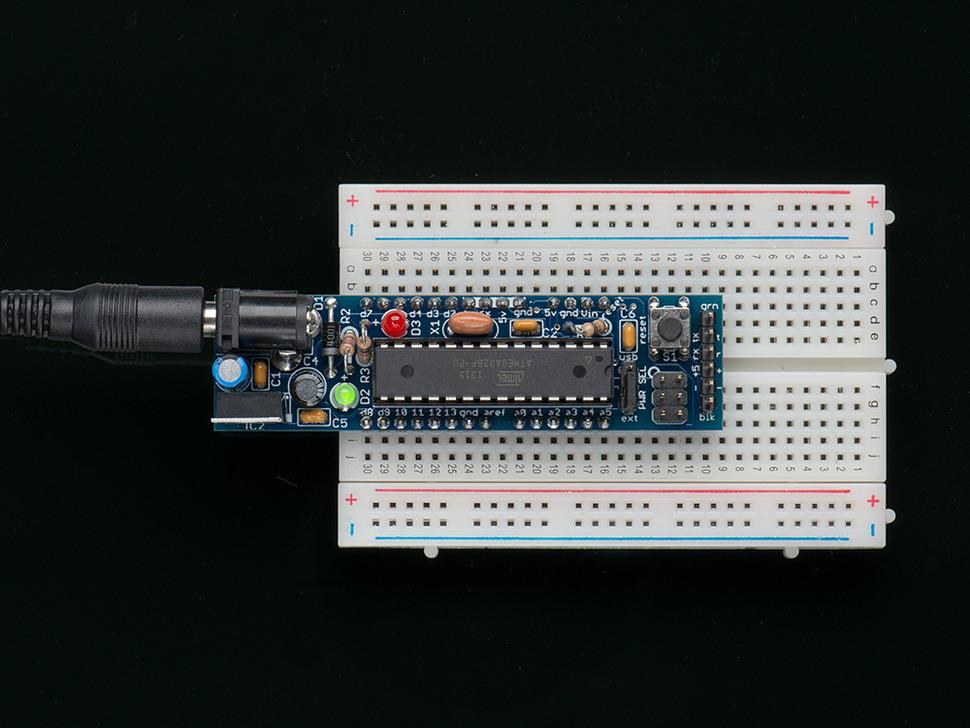 DC Boarduino (Arduino compatible) Kit (w/ATmega328) - v1.0