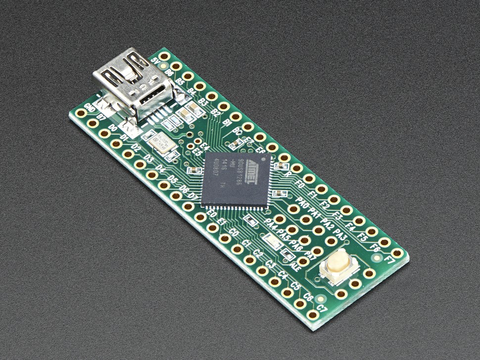 Teensy++ (AT90USB1286 USB dev board) + header - AT90USB1286