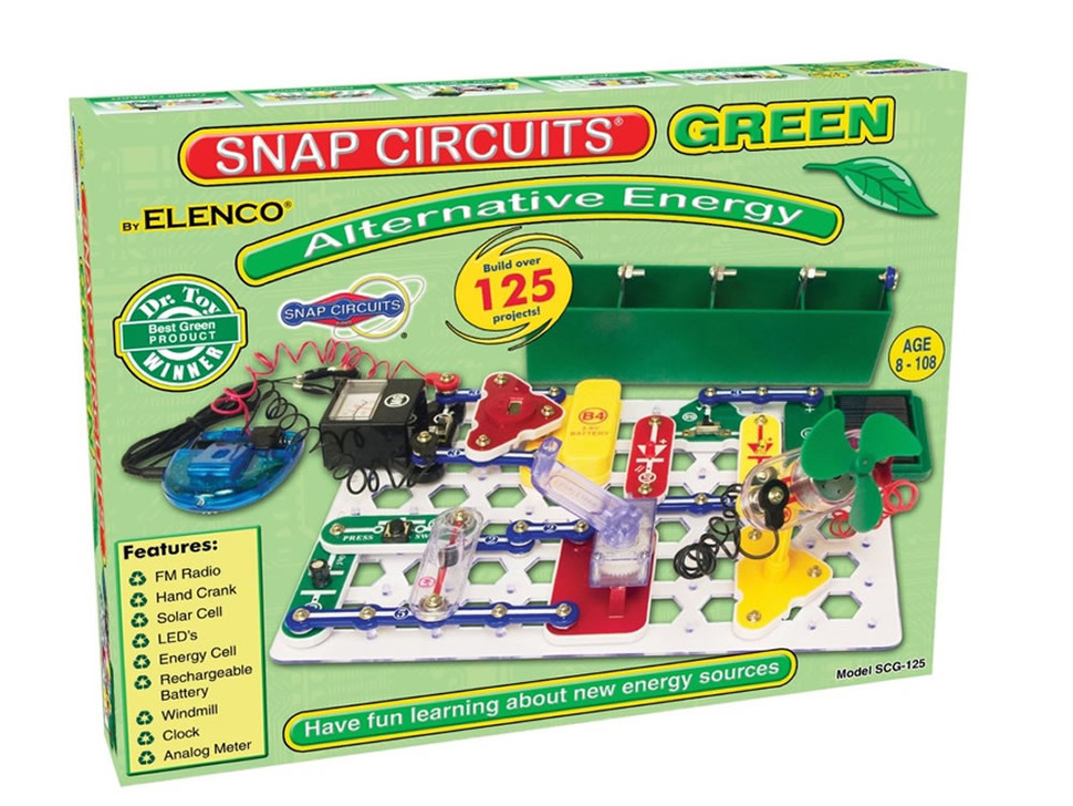 Snap Circuits® Green - Elenco SCG-125
