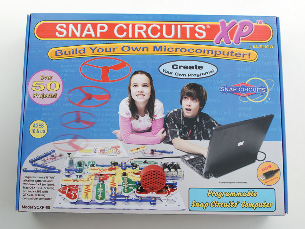 Snap Circuits® XP™ - Elenco SCXP-50