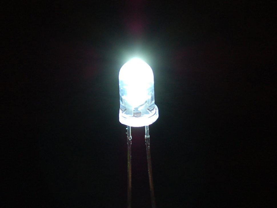 Super Bright White 5mm LED (25 pack)