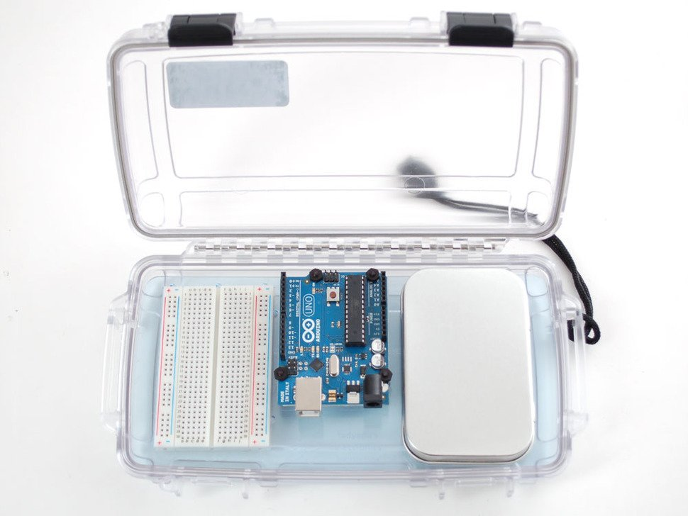 Lady Ada's Bento Box - Portable Pack & Hack Box - Breadboard + Tin