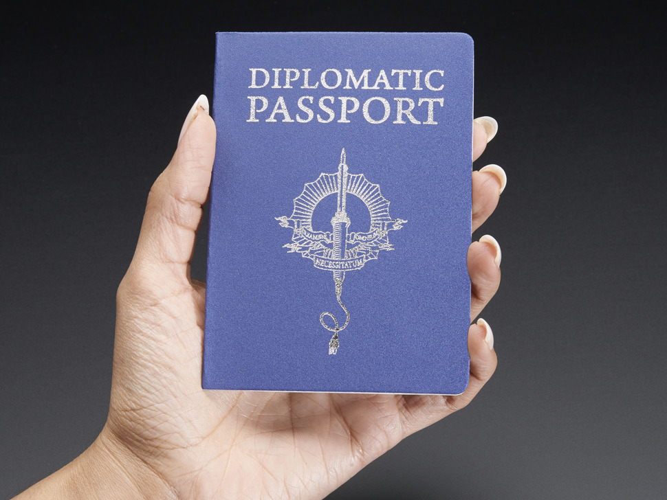 Hackerspace passport