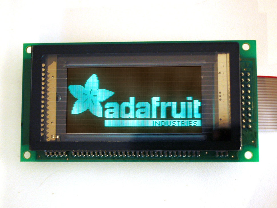 128x64 Graphic VFD (Vacuum Fluorescent Display) - SPI interface