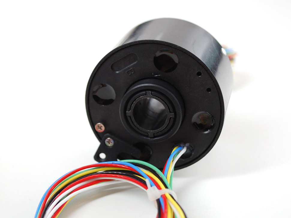 "Toroid Slip Ring - 2.1"" OD 1/2"" ID, 6 wires, max 240V @ 5A"