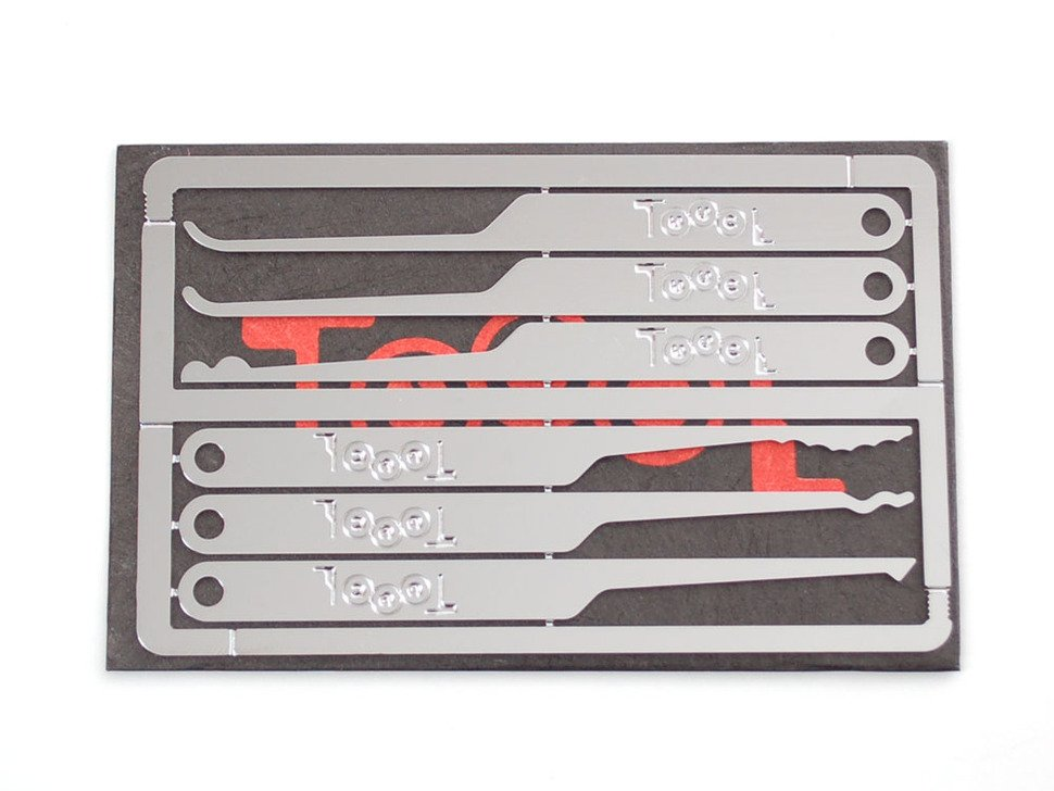 Toool Emergency Lock-Pick Card