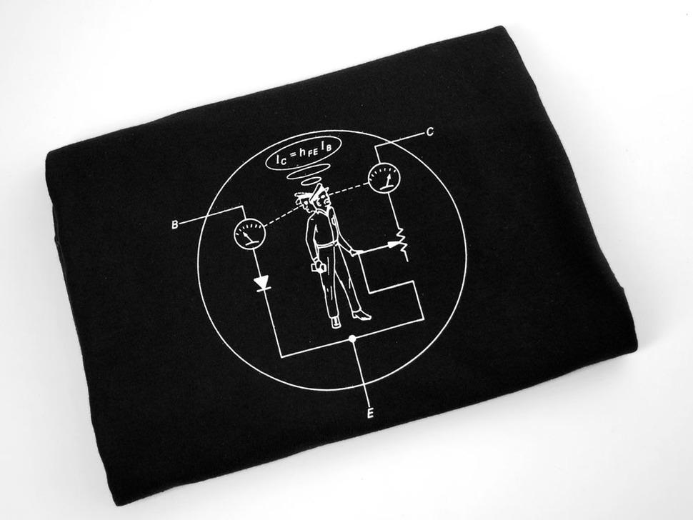 Transistor Man Shirt - Mens X-Large