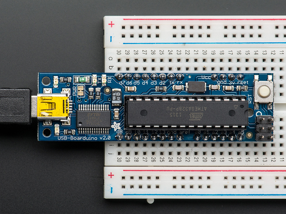 USB Boarduino (Arduino compatible) Kit w/ATmega328 - v2.0