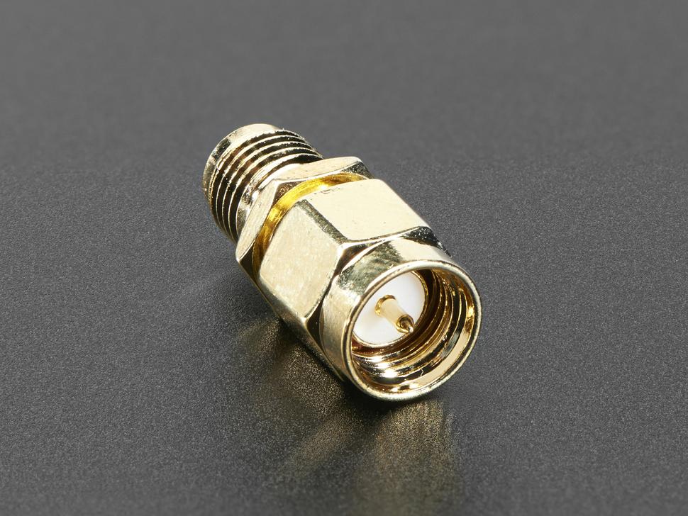 RP-SMA Jack to SMA Plug RF Adapter
