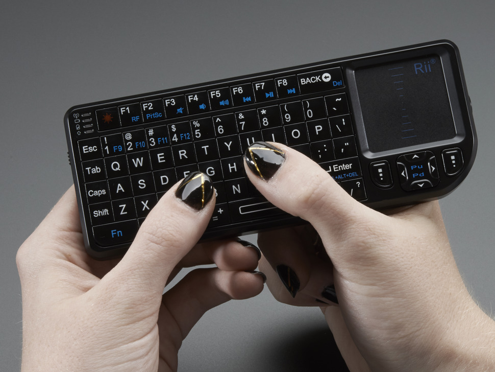 Miniature Wireless USB Keyboard with Touchpad