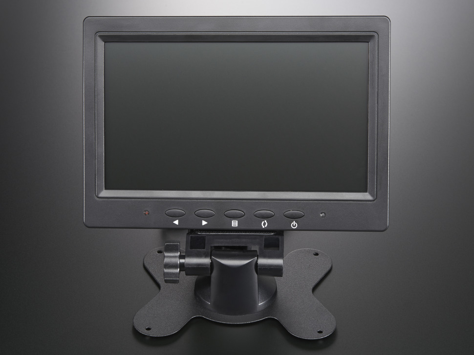 "NTSC/PAL (Television) TFT Display - 7"" Diagonal"