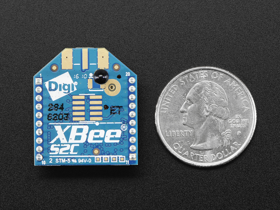 XBee Module - ZB Series S2C - 2mW with Wire Antenna - XB24CZ7WIT-004