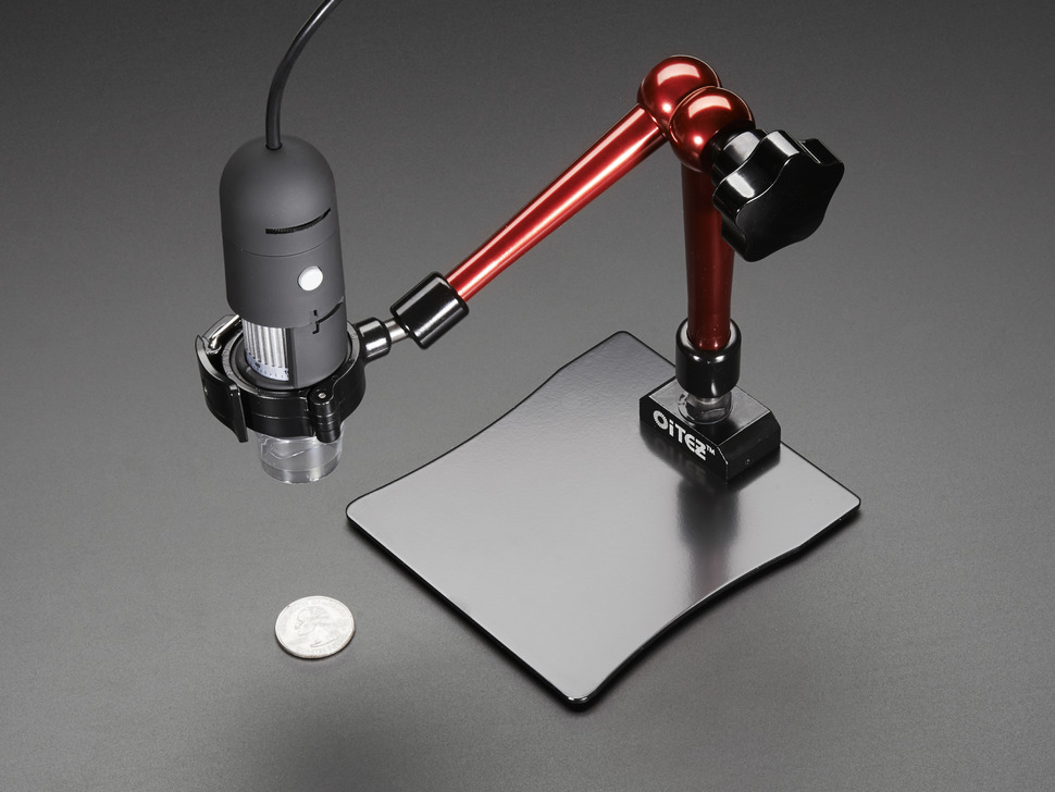 Articulated Arm Stand for USB Microscope