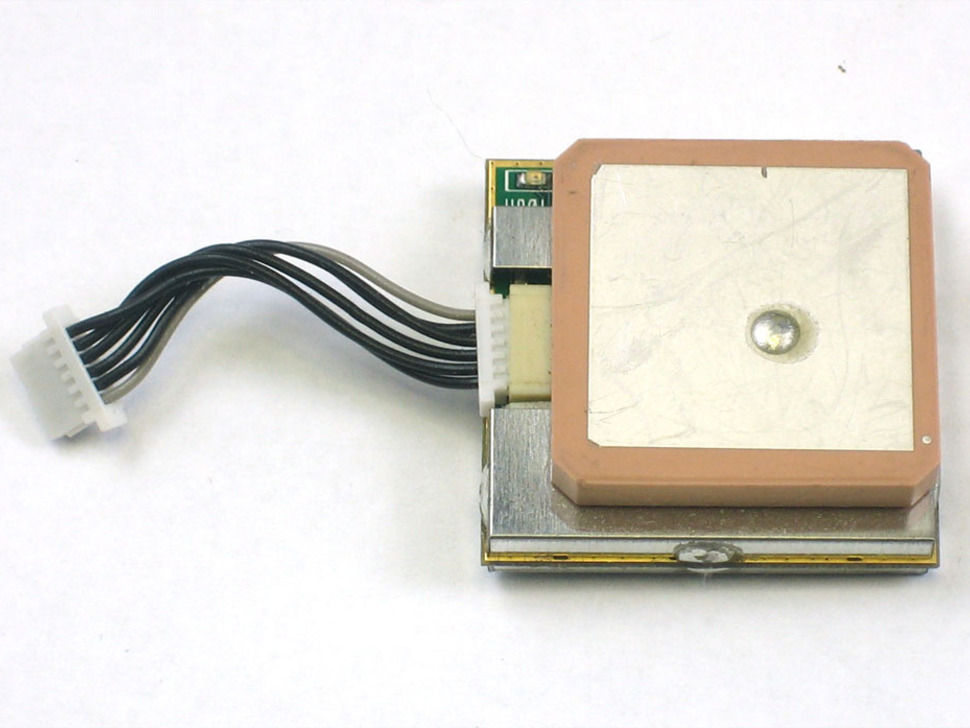 GPS module with built in antenna and 6-pin cable