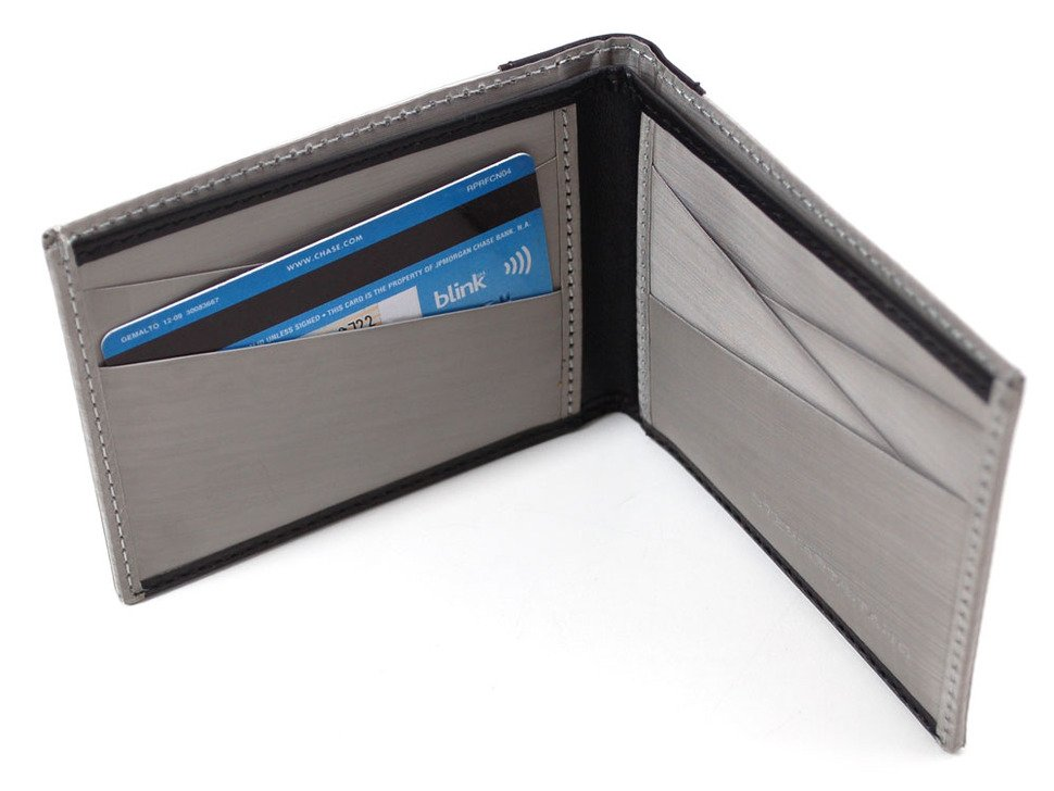 Stainless Steel RFID Blocking Wallet