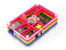 Rainbow Pibow - Enclosure for Raspberry Pi Model B
