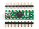 Teensy++ (AT90USB1286 USB dev board) + header